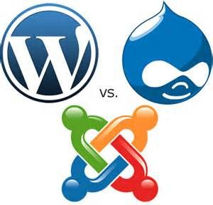 WordPress vs. Joomla, Drupal and Magento